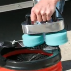 Pad Washer Machine Video