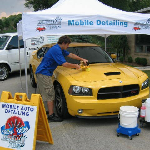 Mobile Auto Detailing Reconditioning Equipment Supplies