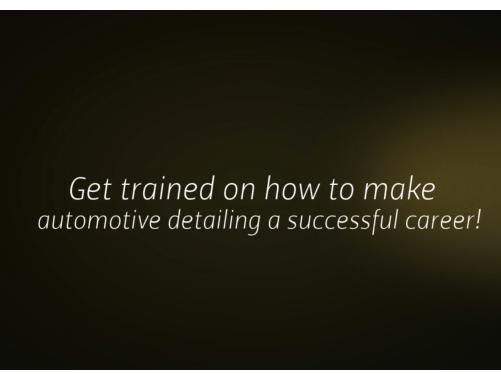 Start an Auto Detailing Business