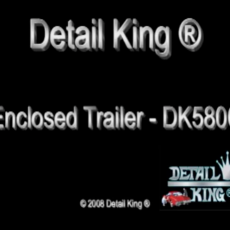 Enclosed Auto Detailing Trailer Video