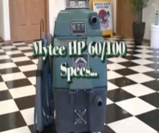 Mytee Carpet Extractor Overview