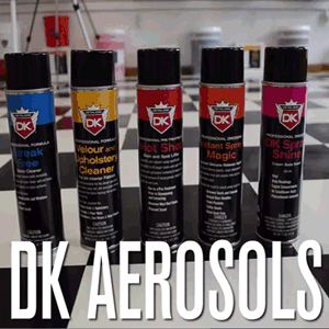 Detail King Aerosols – Car Interior