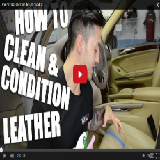 How To Clean & Condition Your Leather