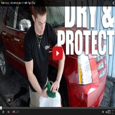 How To Dry & Protect Your Car With Aqua Seal