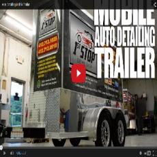 Auto Detailing Mobile Trailer