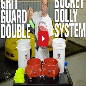 Grit Guard Double Bucket Dolly System