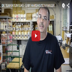 DK TEAM INTERVIEWS – GARY WAREHOUSE MANAGER