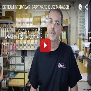 DK TEAM INTERVIEWS – GARY WAREHOUSE MANAGER