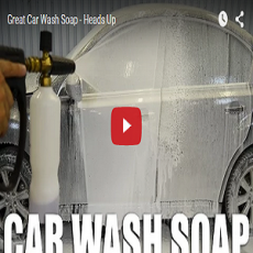 Great Car Wash Soap – Heads Up