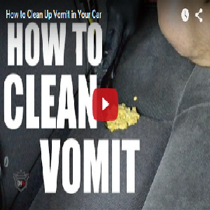 How To Clean Up Vomit In Your Car