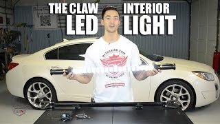 The Claw LED Light Bar For Car Interior Detailing