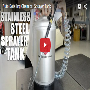 Auto Detailing Chemical Sprayer Tank