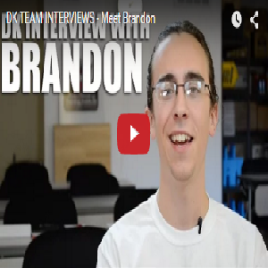 DK TEAM INTERVIEWS – Meet Brandon