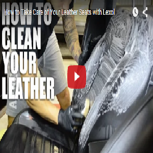 How To Take Care Of Your Leather Seats With Lexol