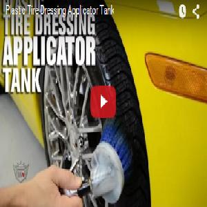 Plastic Tire Dressing Applicator Tank