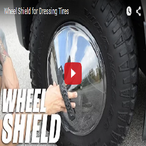 Wheel Shield For Dressing Tires