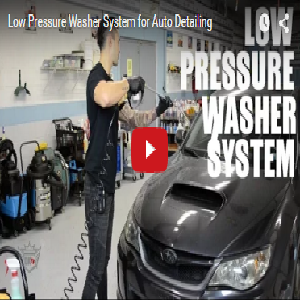 Low Pressure Washer System For Auto Detailing Detail King