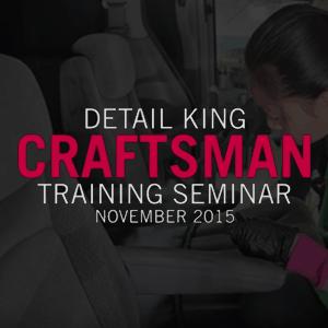 November 2015 Auto Detailing Craftsman Class