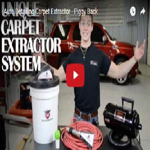 Auto Detailing Carpet Extractor – Piggy Back