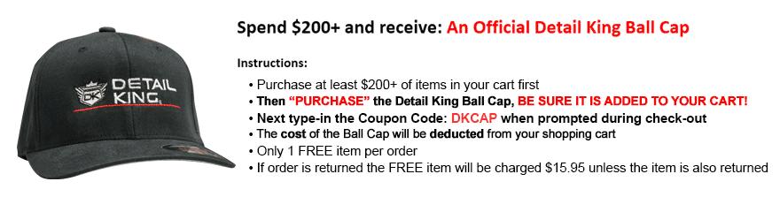Detail King Official Ball Cap