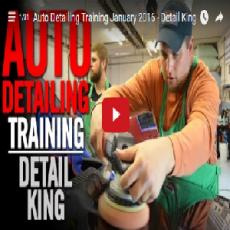 January 2016 Auto Detailing Craftsman Class