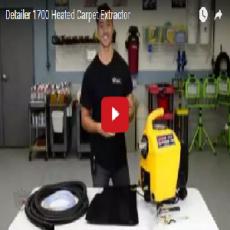 Detailer 1700 Heated Carpet Extractor