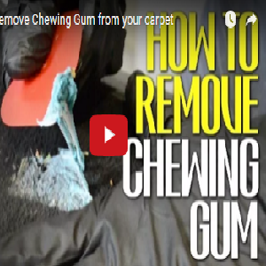 How To Remove Chewing Gum From Your Carpet