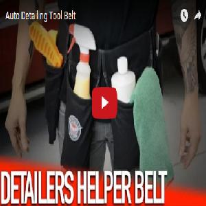 Auto Detailing Tool Belt