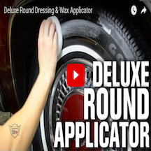 Deluxe Round Dressing & Wax Applicator