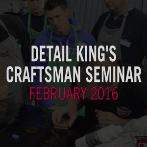 February 2016 Auto Detailing Craftsman Class