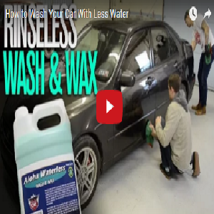 How to Wash Your Car With Less Water