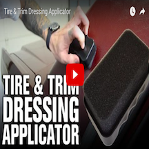 Tire & Trim Dressing Applicator