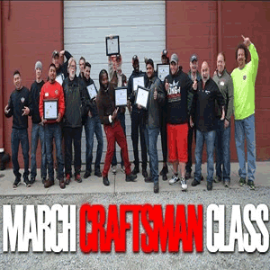 March 2016 Craftsman Class