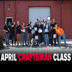 April 2016 Craftsman Class
