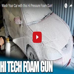 Wash Your Car With This Hi Pressure Foam Gun!