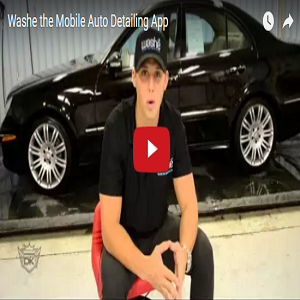 Washe The Mobile Auto Detailing App