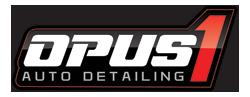 Opus1 Auto Detailing - logo