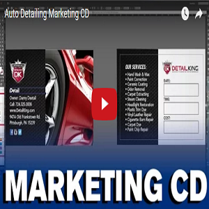 Auto Detailing Marketing CD
