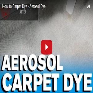 How To Carpet Dye – Aerosol Dye