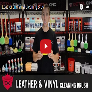Leather & Vinyl Cleaning Brush