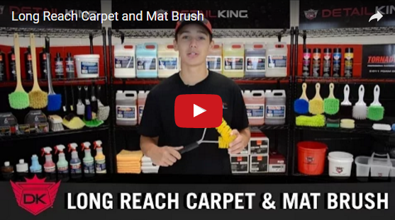 Long Reach Carpet & Mat Brush Video