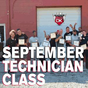 September Technician Class 2016