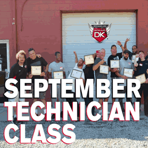 September Technician Class 2016