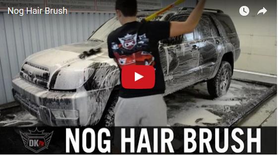 Nog Hair Brush