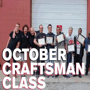 October 2016 Craftsman Seminar