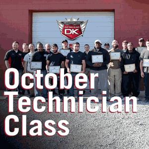 October Technician Class 2016