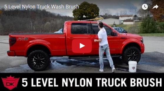 5 Level Nylon Truck Wash Brush
