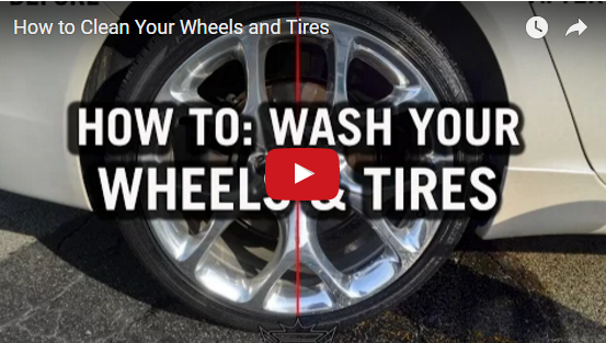 How To Clean Wheels and Tires