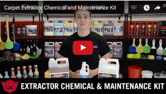 Carpet Extractor Chemical and Maintenance Kit