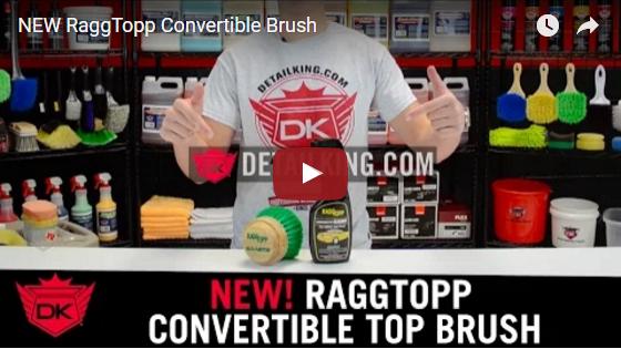 RaggTopp Convertible Brush